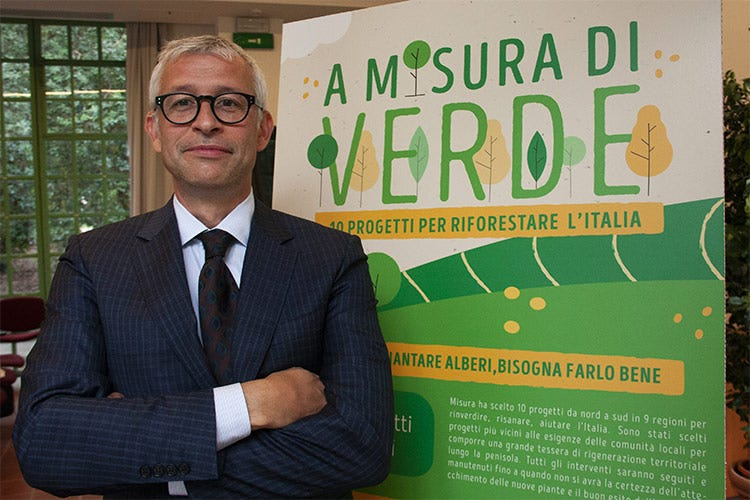 Massimo Crippa, direttore commerciale del Gruppo Colussi - La svolta green di Gruppo Colussi «Sostenibilità è responsabilità»