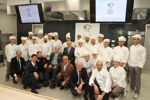Al Master della cucina italiana  45 docenti qualificati per 20 allievi