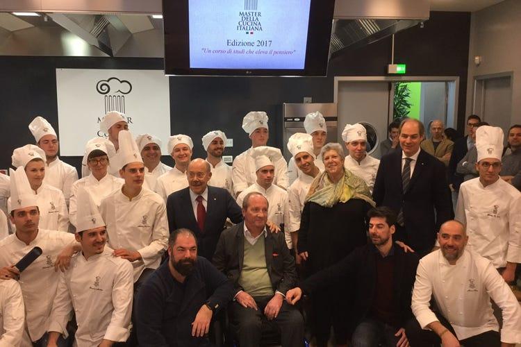 Master della cucina italiana sedici talenti aprono i corsi 2017