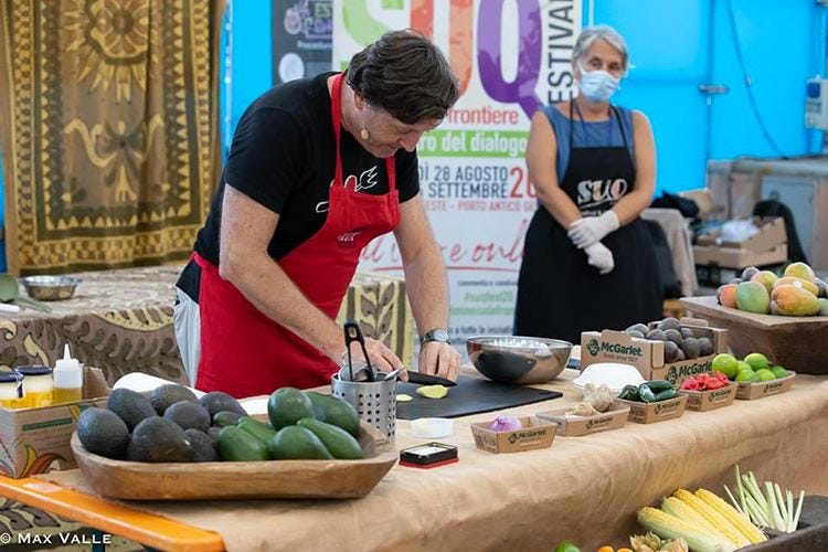 McGarlet protagonista a Suq Show cooking con chef Kumalé