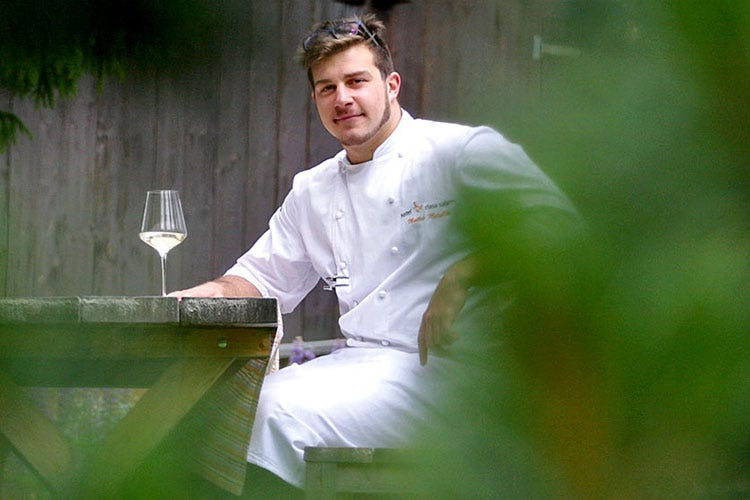 Matteo Metullio (Metullio e l'addio a La Siriola «Basta cucina, voglio fare il padre»)