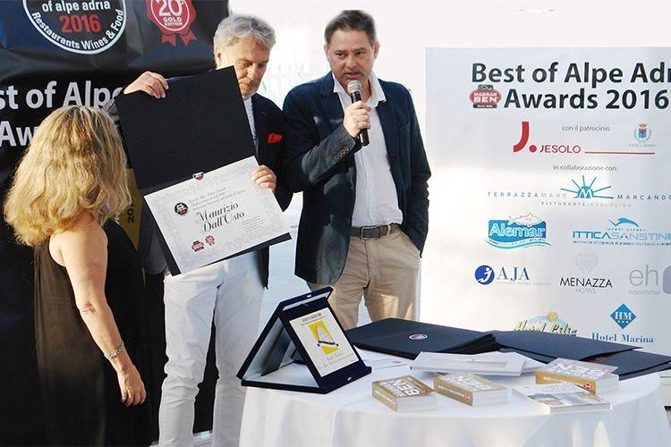 Il maître Maurizio Dall'Osto è il migliore dell'Alpe Adria