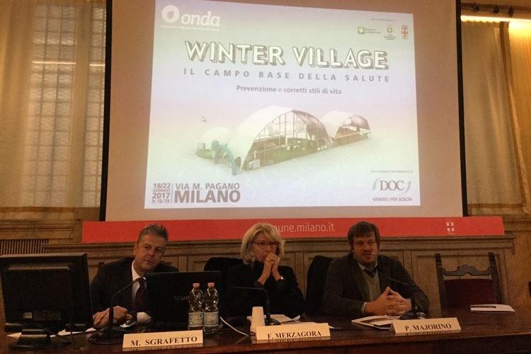 Salute e prevenzione al femminile al centro del Winter Village a Milano