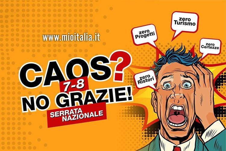 Apri e chiudi, ma Mio Italia non ci sta: Chiudiamo bar e ristoranti il 7 e l'8 per protesta