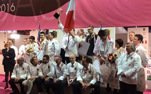 La pasticceria italiana trionfa a ParigiOro al £$Mondial des arts sucrés$£