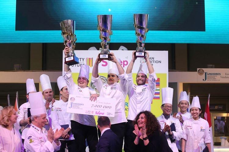 Mondiale juniores di pasticceria Trionfa l'Italia, poi Francia e Singapore