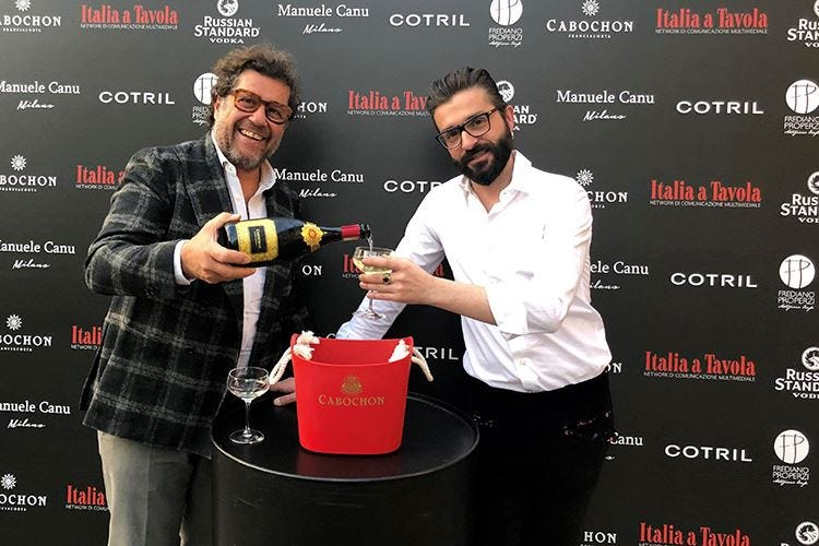 Monterossa per la moda Sponsor alla 1ª sfilata di Manuele Canu