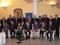 """""""Amici della Tavola"""", alla presidenzasempre Carlo Musajo Somma di Galesano"""