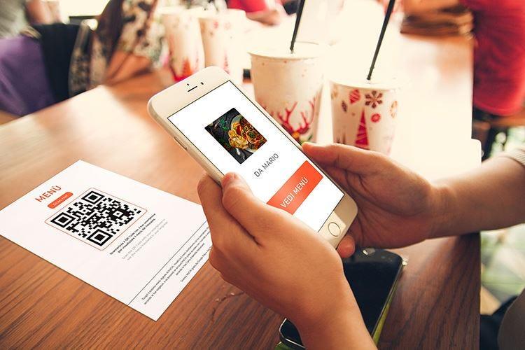 My Contactless Menù La rivoluzione digitale per la Fase 2