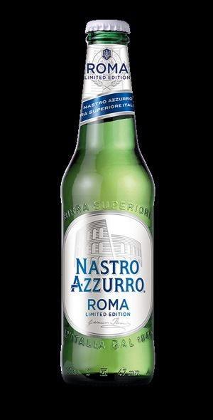 £$Limited edition$£ Nastro Azzurro Roma L'etichetta è un omaggio al Colosseo