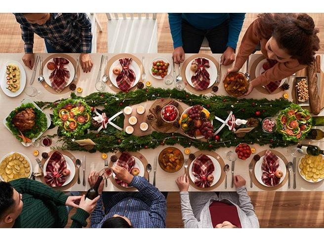 Natale, a casa per 9 italiani su 10 Nel menu i piatti della cucina regionale