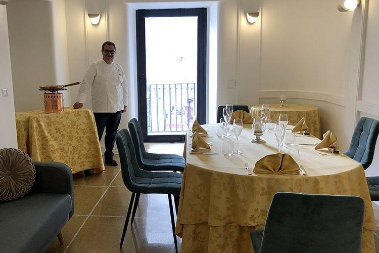 Il Neapolitan style del Garò Per Gramaglia un «ritorno a casa»