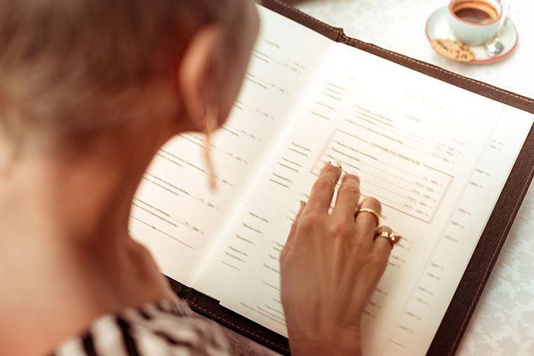 Nel menu il dna di un locale Il design deve conquistare il cliente