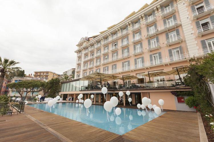 Novità al Grand Hotel Bristol Area wellness e piscina vista Portofino