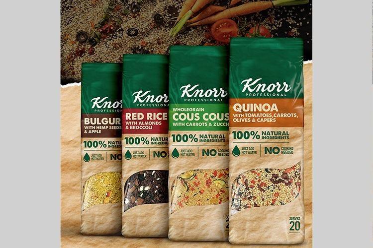 Nuove insalate Knorr Professional Subito pronte e ricche di gusto