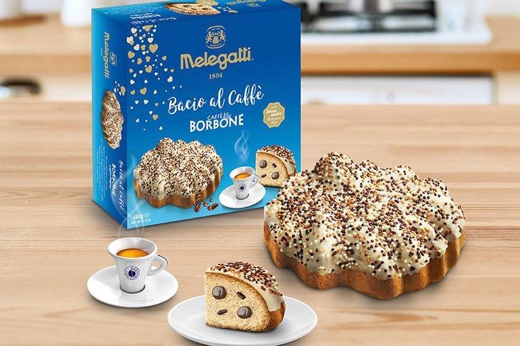 Nuovo Bacio al Caffè Melegatti, il dolce ideale per ogni festa