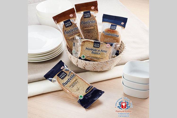 """Nutrifree, buono come il pane Il """"free from"""" ha più gusto"""