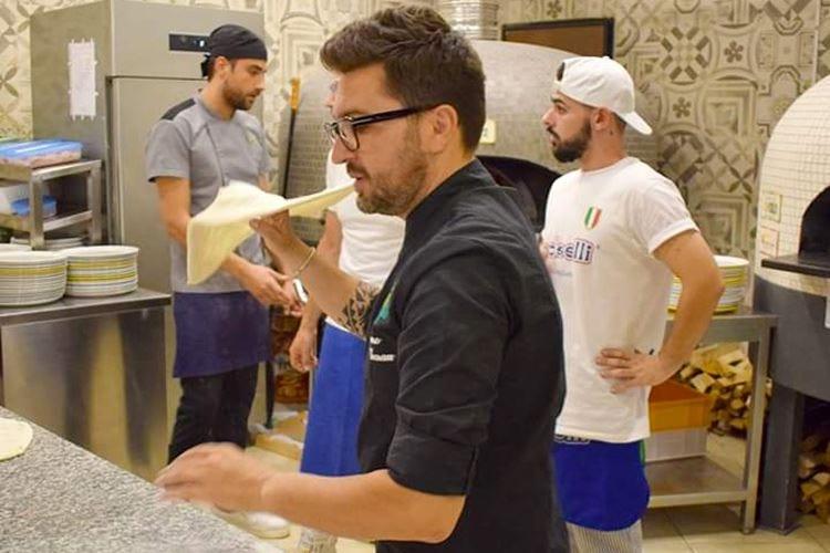 Olio e Basilico, pizza d'altri tempi Impasti di qualità e topping locale