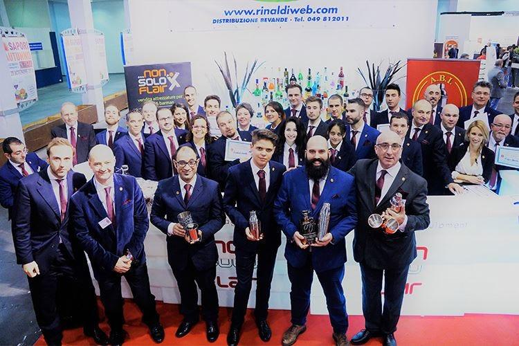 I barman Olivari, Trolio e Sasso vincono le selezioni Abi Professional per il nord