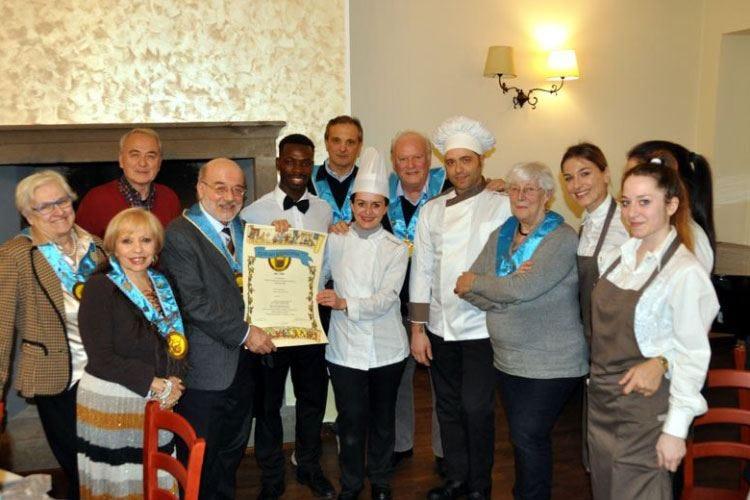 Il Club Buongustai Bergamo plaude la qualità del One Love Restaurant
