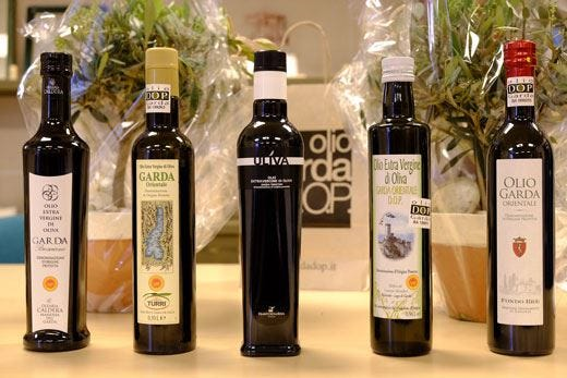 "L'olio ""Uliva"" dell'Agraria Riva del Garda 