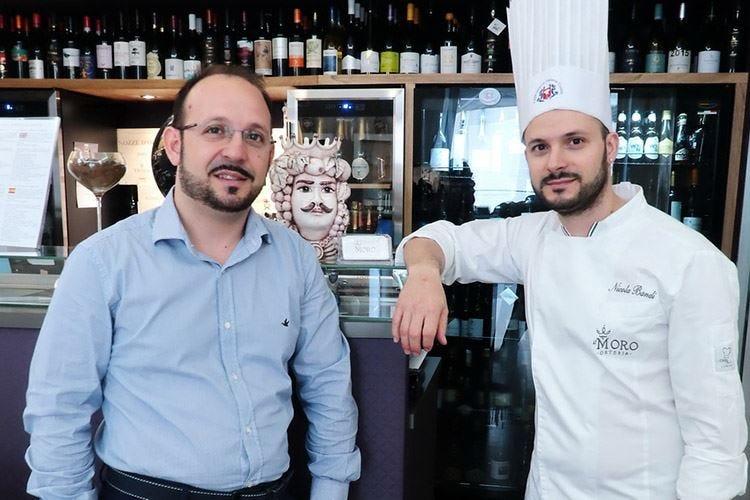 Osteria Il Moro nel centro di Trapani Cucina siciliana e sperimentazione