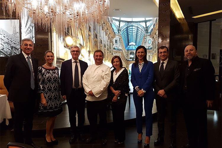 Paolo Gramaglia ad Abu Dhabi per rappresentare la cucina italiana