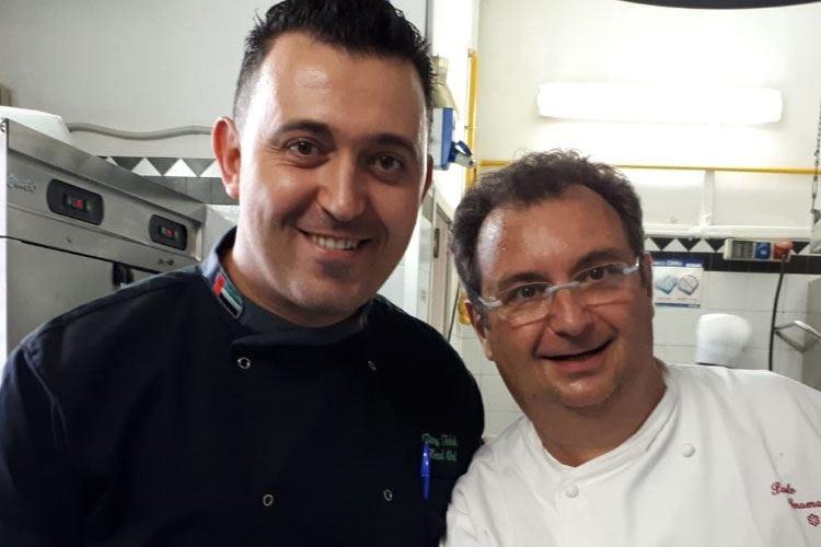 Il personal chef dello sceicco di Abu Dhabi a lezione da Paolo Gramaglia