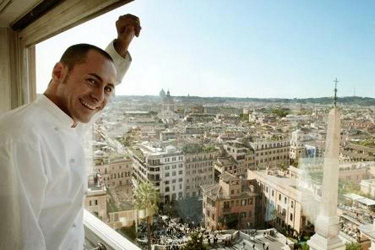 Pasqua all'insegna della cucina gourmet Menu ad hoc all'Imàgo dell'Hassler Roma