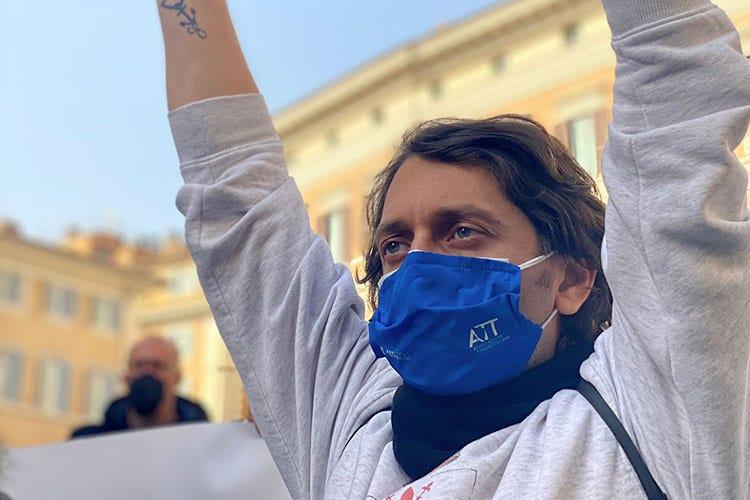 Pasquale Naccari - Dalla prosteta al presidio a oltranza A Roma, i ristoratori in piazza