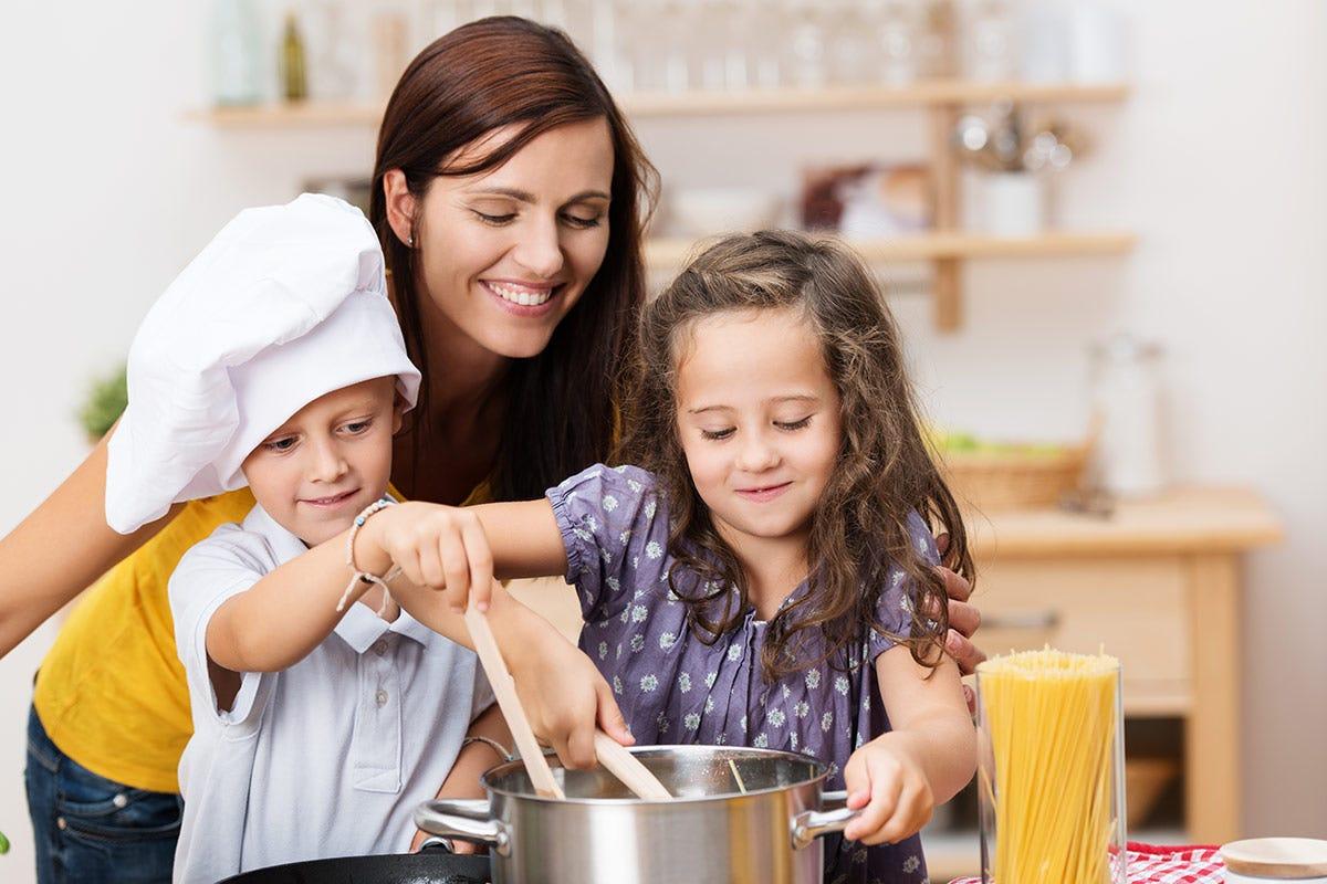 La pasta a cena è sinonimo di famiglia