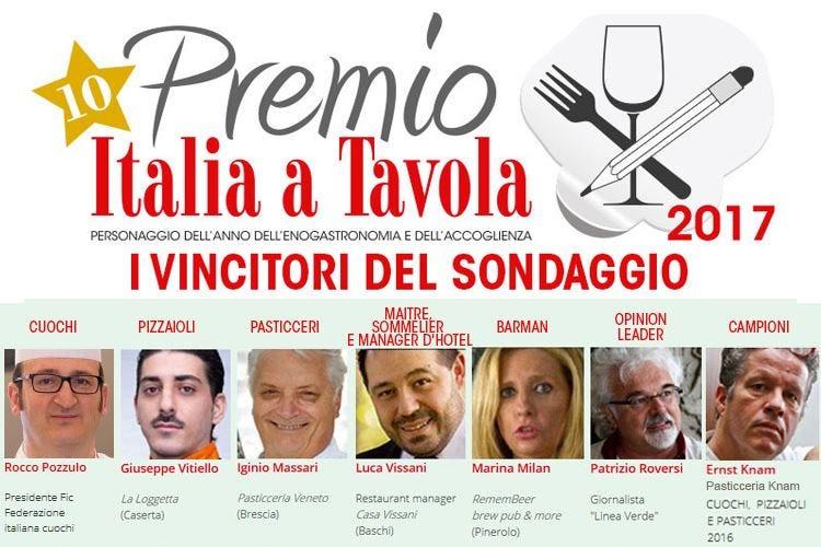 Personaggi dell'anno: Pozzulo, Vitiello, Massari, Vissani, Milan, Roversi, Knam