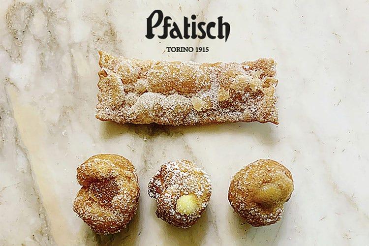 Da Pfatisch a Torino i dolci tipici del Carnevale - Una dolce scatola degustazione Così Pfatisch festeggia il Carnevale