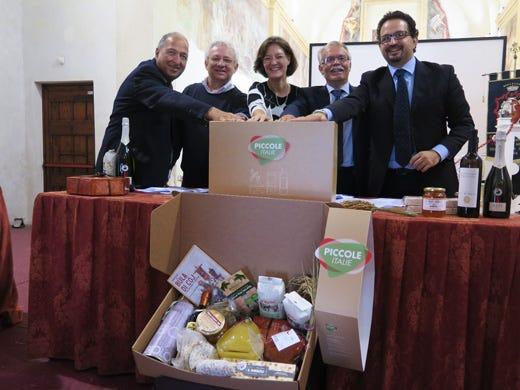 Il debutto di Piccole Italie Network di identità territoriale - Italia a Tavola