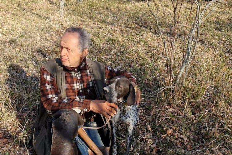 Pino Crestini. Fonte: Accademia del Tartufo nel Mondo Il racconto del tartufo, reminiscenze regionali: la Toscana