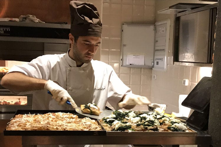Pizzottella, debutta a Milano l'autentica pizza in teglia romana - Italia a Tavola