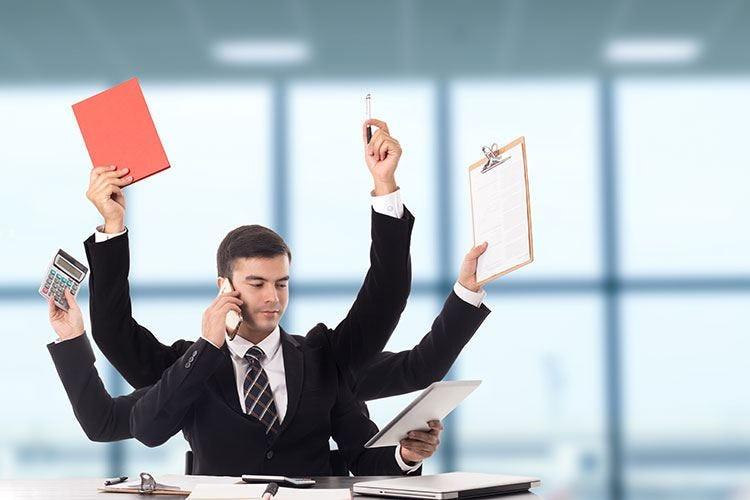 Produttività e multitastking, più attività Un cervello sovraccaricato soffre