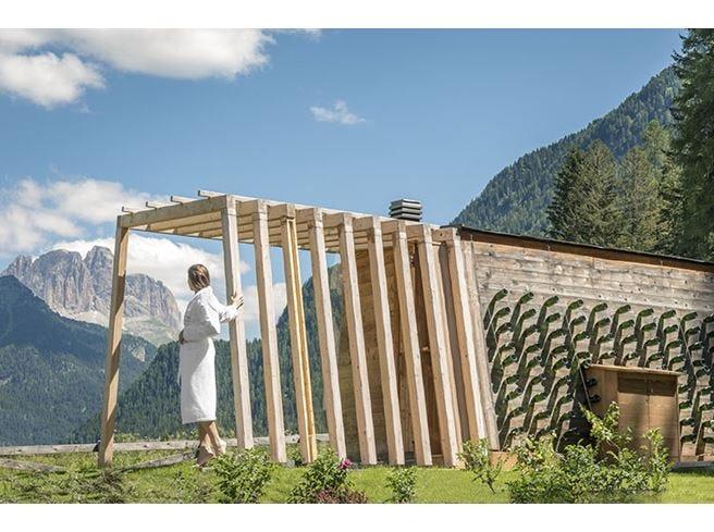 Qc Terme Dolomiti, una nuova sauna in collaborazione con Cantine Ferrari