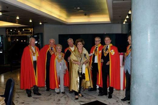 Bergamo, polenta in tavola con amiciziaal raduno dei circoli enogastronomici