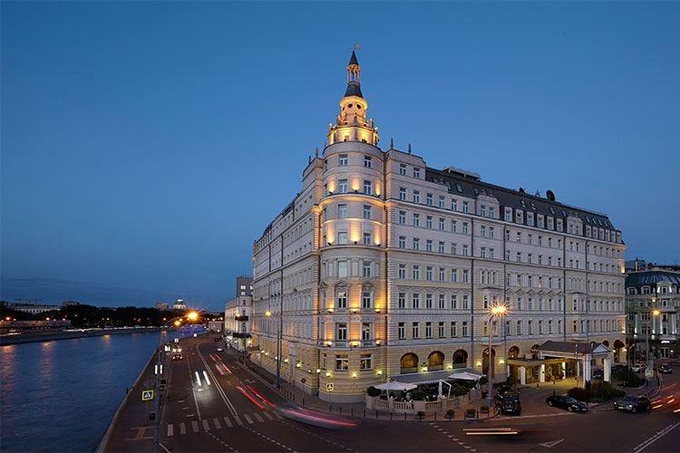 Lusso senza tempo nel cuore di Mosca all'Hotel Baltschug Kempinski