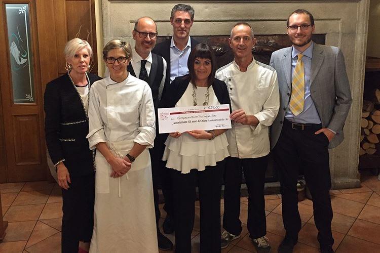 Ristoranti regionali per beneficenza Un menu per gli Amici di Chiara