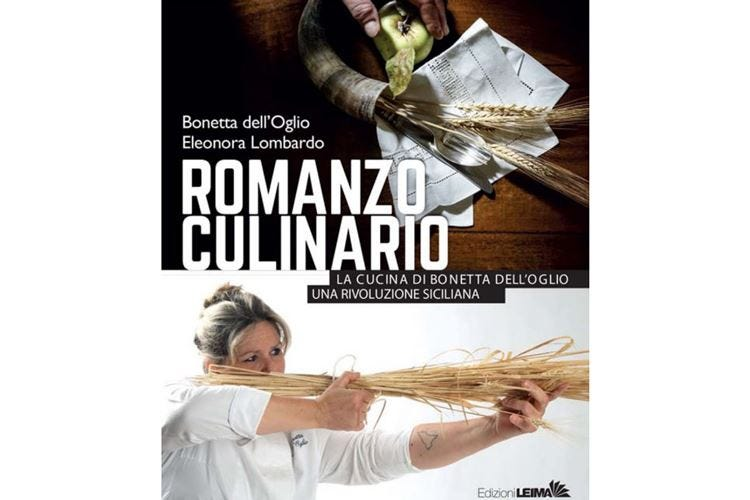 Romanzo Culinario di Bonetta dell'Oglio Omaggio ai prodotti siciliani