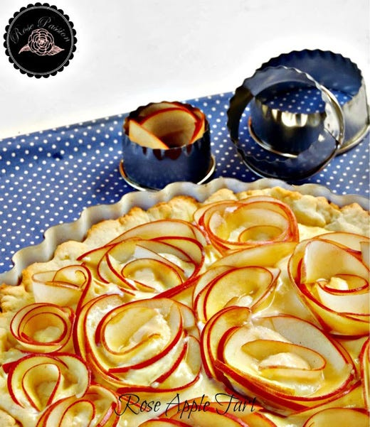 Rose Apple Tart