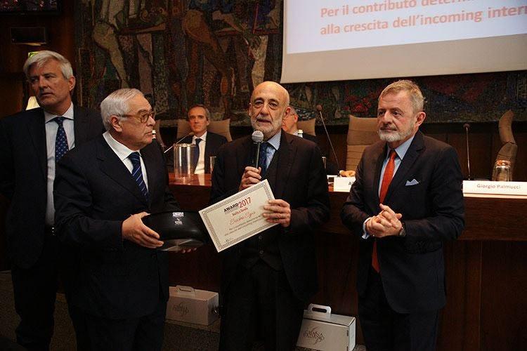 Sacbo, addio al presidente Bruni Ritirò l'Award '18 di Italia a Tavola