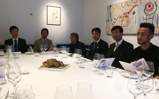 Profumo di Giappone da Aimo e Nadia Il sake sposa i piatti della cucina italiana
