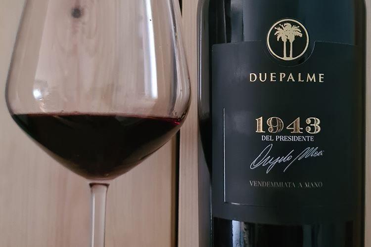 £$Ripartiamo dal vino$£ Salento Rosso Igp 1943 Due Palme