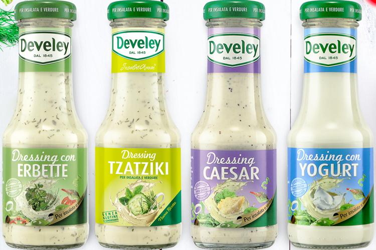 Salse Develey, gusto e vitalità in cucina Le salse per dare fantasia al piatto