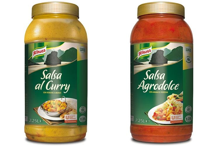 Unilever Food Solutions lancia le nuove Salse Etniche Knorr