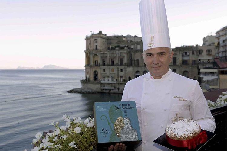Il pasticcere AMPI Salvatore Gabbiano vince il contest dedicato San Gennaro