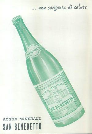 Acqua minerale san benedetto un successo italiano lungo 60 - Vi metto a tavola san benedetto ...